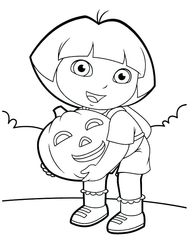 dora easter coloring pages - photo#18