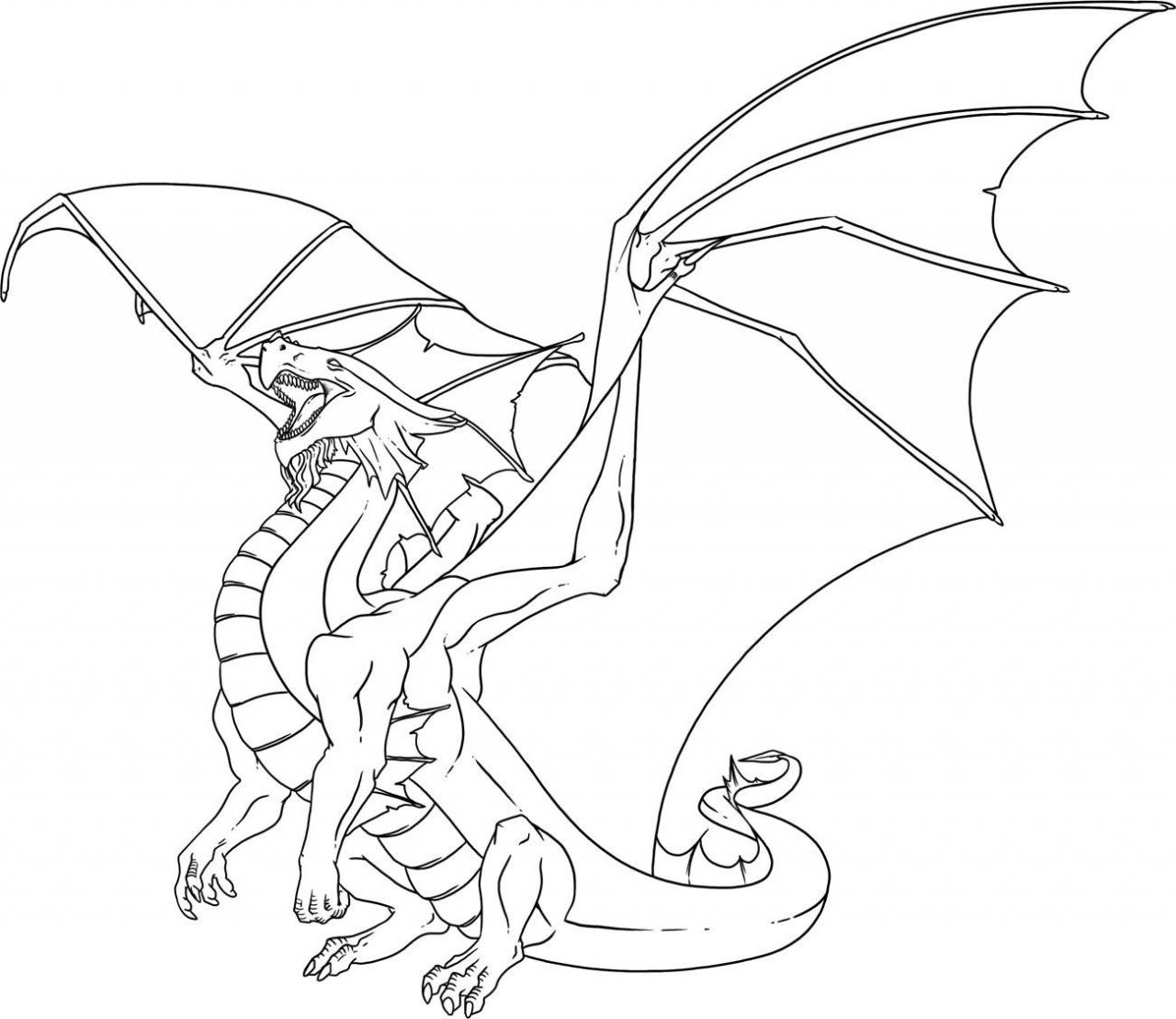 1280x1109 Dragon Coloring Pages Adults Coloring Page For Kids Kids Coloring