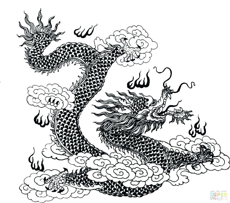 878x777 Fire Dragon Coloring Pages Dragon 2 Coloring Book Coloring Dragon