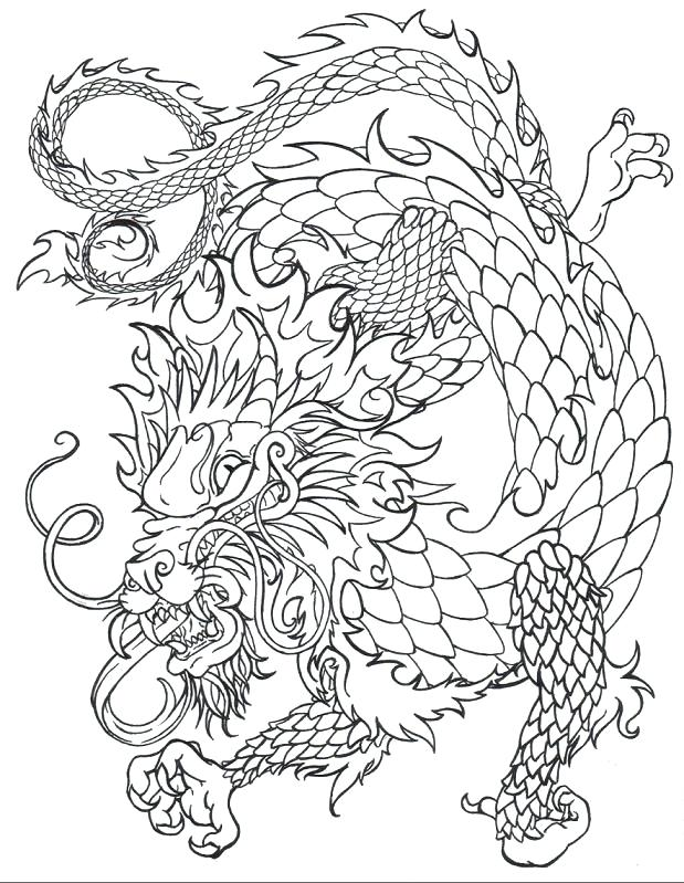 619x799 Best Dragon Illustrations Images On Dragons Coloring Pages Adult