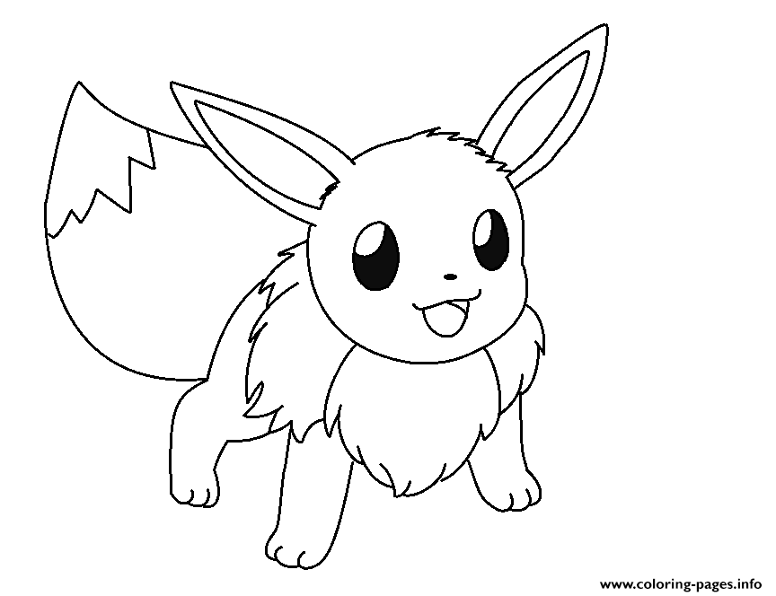 864x664 1481569608eevee Is Ready And Eevee Coloring Pages To Print