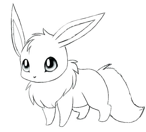 480x434 Eevee Evolutions Coloring Pages Coloring Pages All Printable