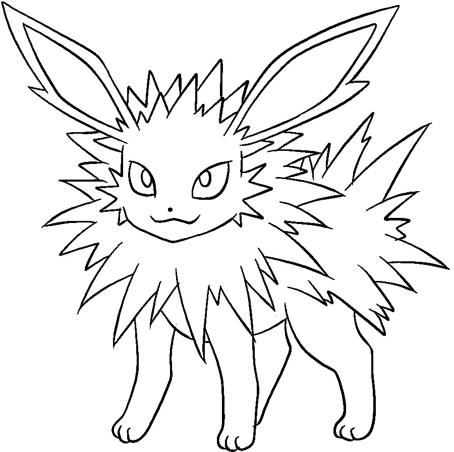 900x896 Just Arrived Eevee Evolutions Coloring Pages E