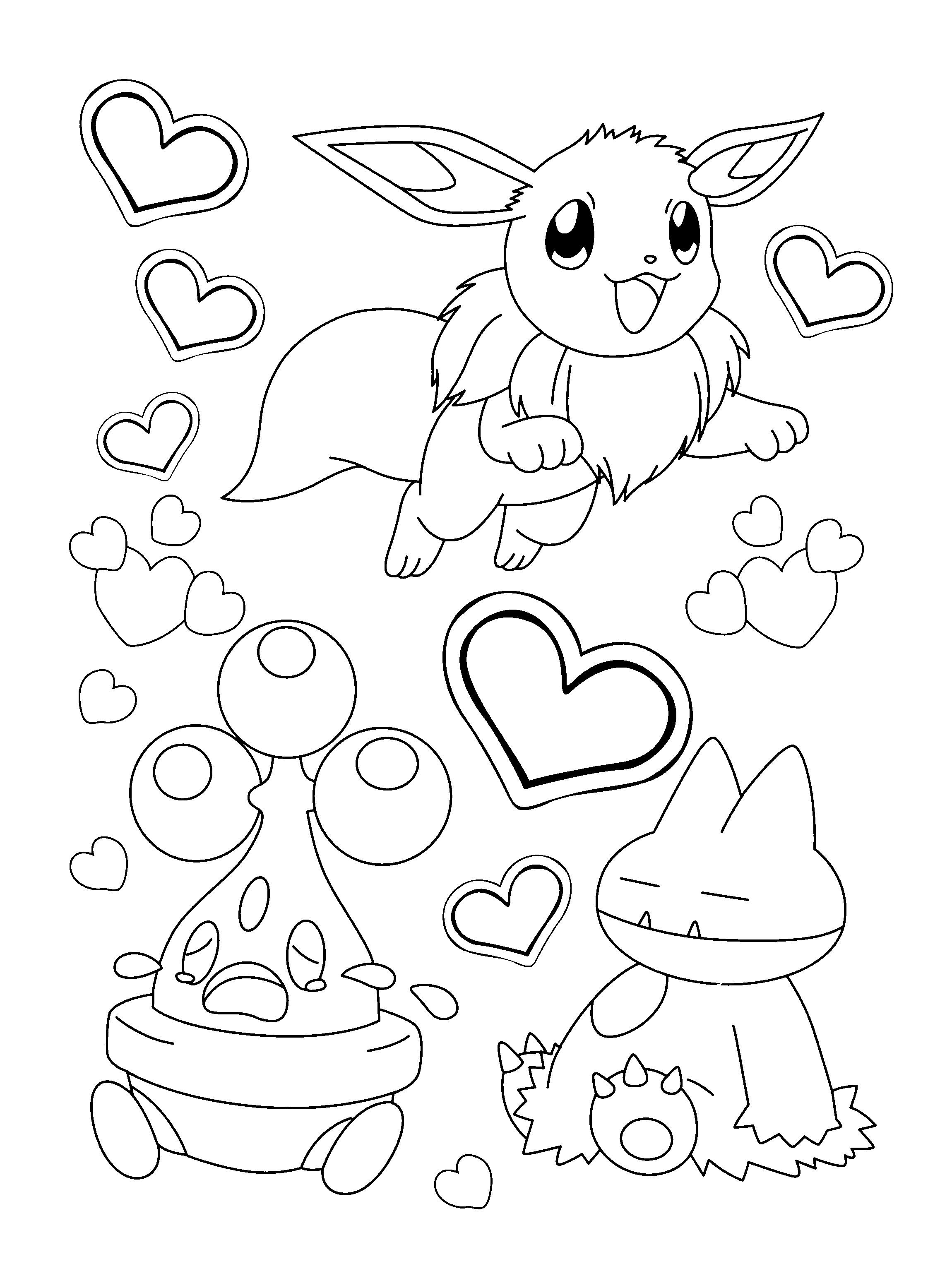 2300x3100 Pokemon Coloring Pages Eevee Evolutions Coloring Pages Endear