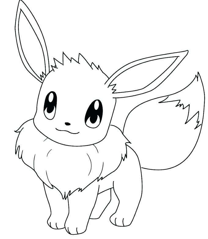 681x783 Eevee Evolution Coloring Sheets Jgheraghty.site