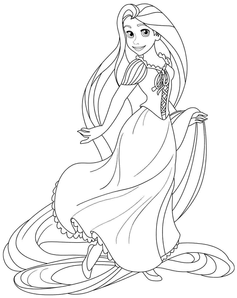 975x1225 Tangled Rapunzel Looking Beautiful