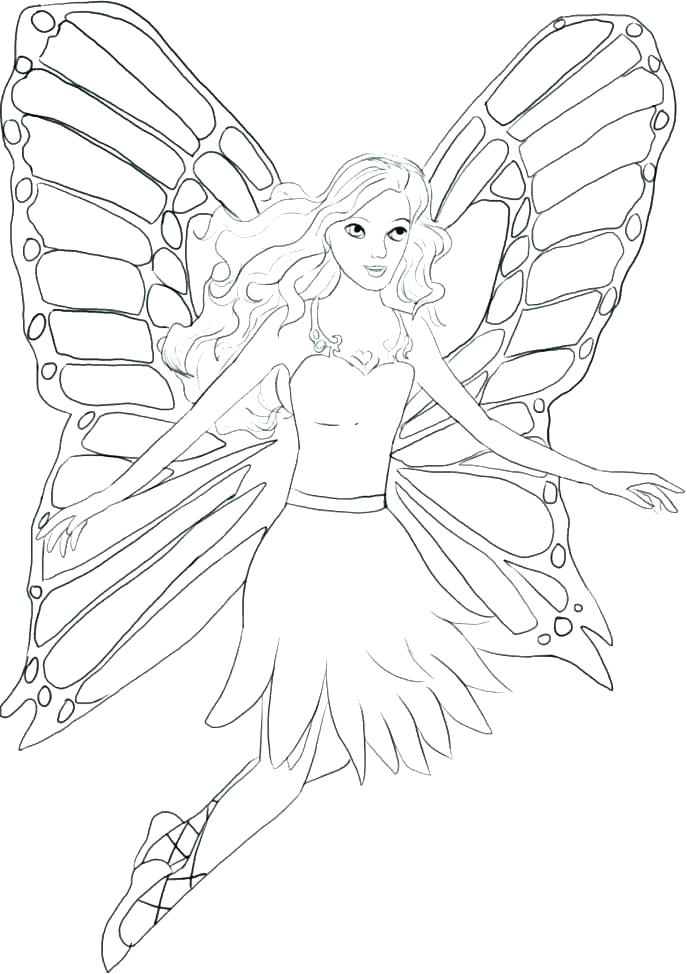 687x974 Fairy Tales Coloring Pages Fairy Tail Coloring Pages Fairy