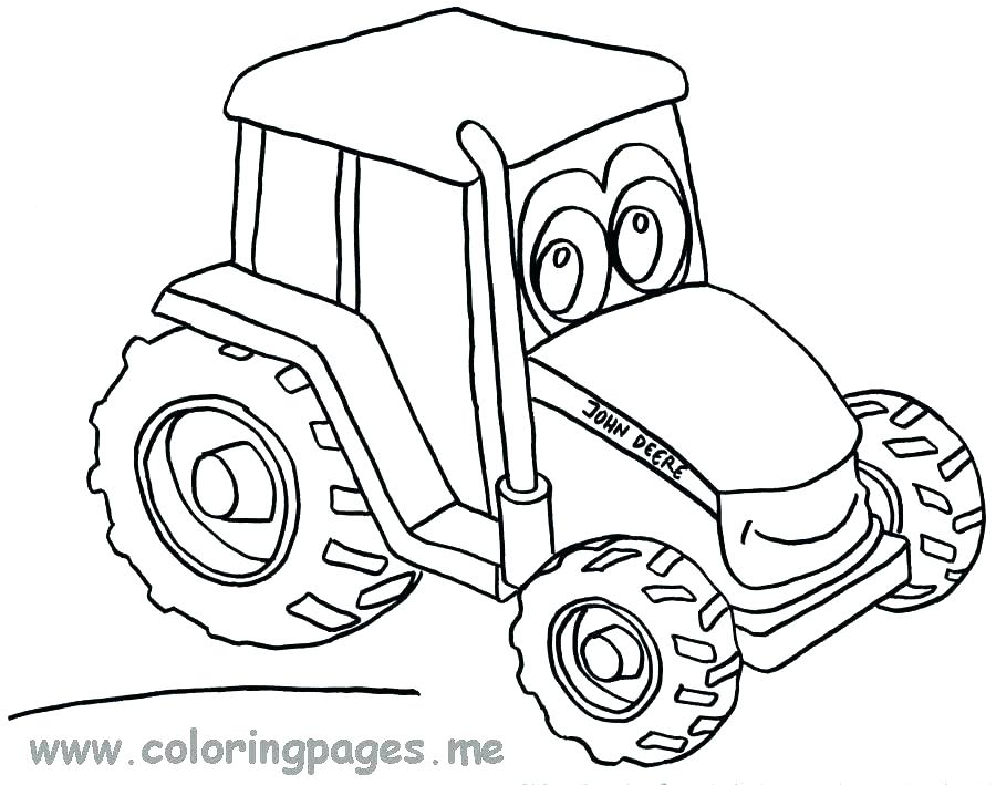 Farmall Tractor Coloring Pages At GetColorings.com