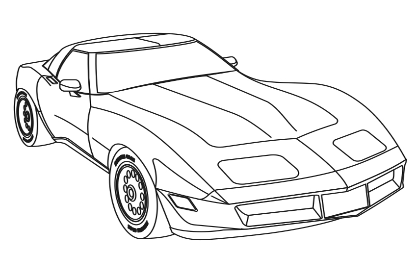 fast cars coloring pages to print | Fast And Furious Cars Coloring Pages at GetColorings.com ...