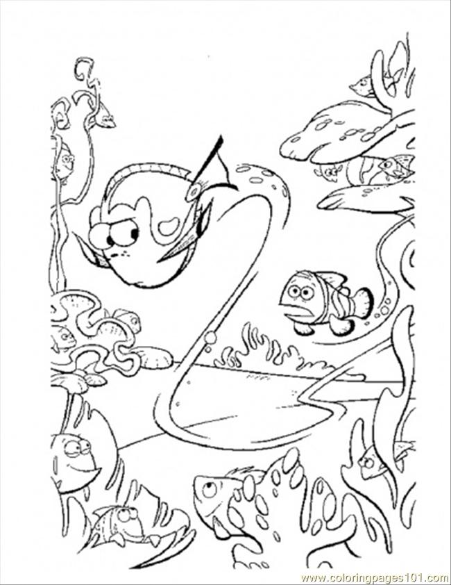 nemo crush coloring pages - photo#6