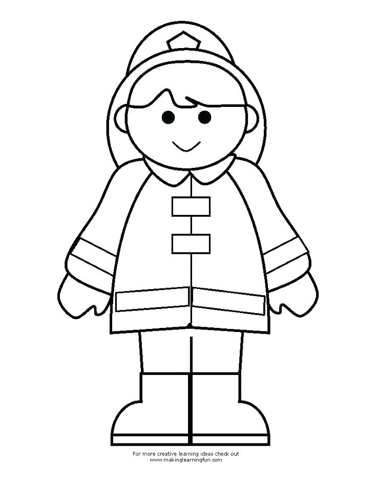 736x952 fireman coloring pages fireman firefighter hat coloring pages