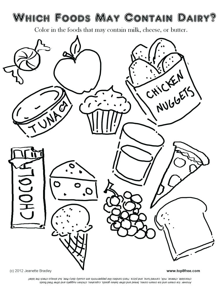 770x996 Food Group Coloring Pages Food Groups Coloring Pages Super Ideas