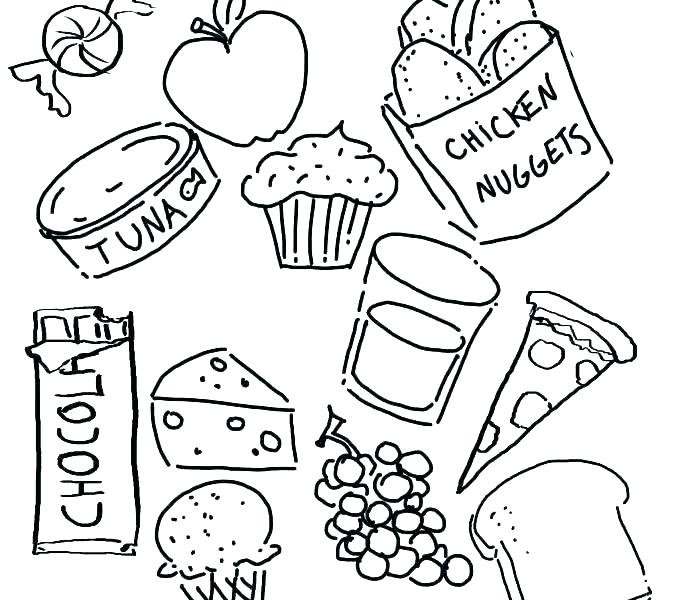 678x600 Food Group Coloring Pages Pyramid Coloring Pages Food Groups