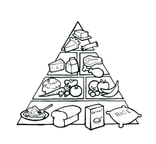 542x500 Food Pyramid Coloring Page Free Printable Coloring Pages Food