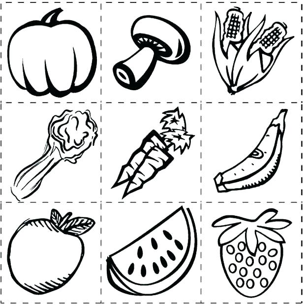 620x621 Healthy Food Coloring Page Food Coloring Pages Food Coloring Page