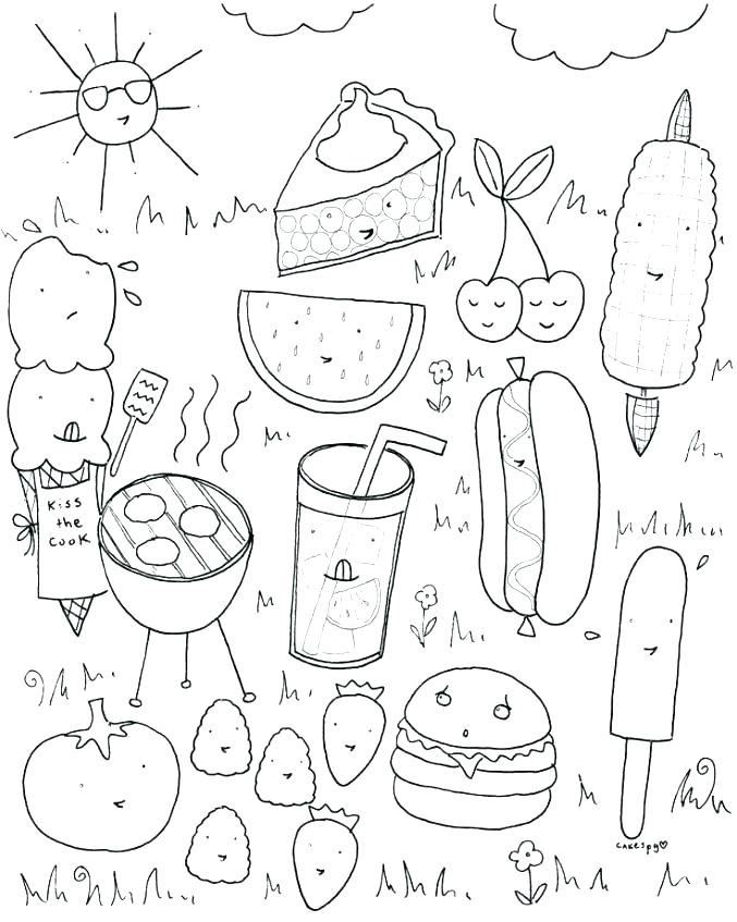 677x847 New Food Group Coloring Pages Or Groups For Preschoolers Pyramid