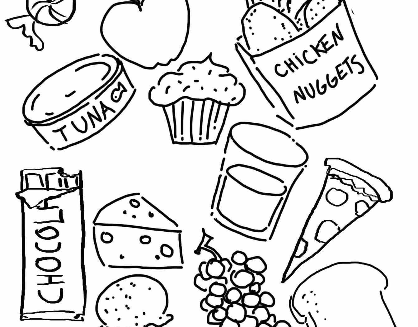 1343x1050 Nice Food Groups Coloring Pages Top Gallery Ideas