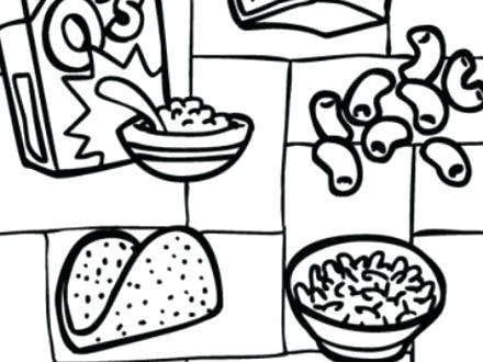 440x330 Food Group Coloring Pages