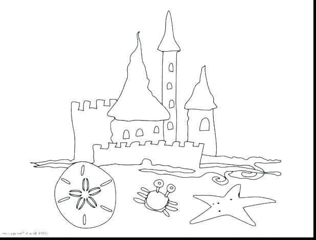 Footprints In The Sand Coloring Page At GetColorings.com