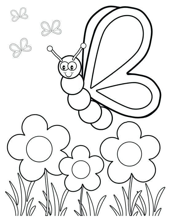 556x720 Free Coloring Pages For Kindergarten Fair Spring Printable