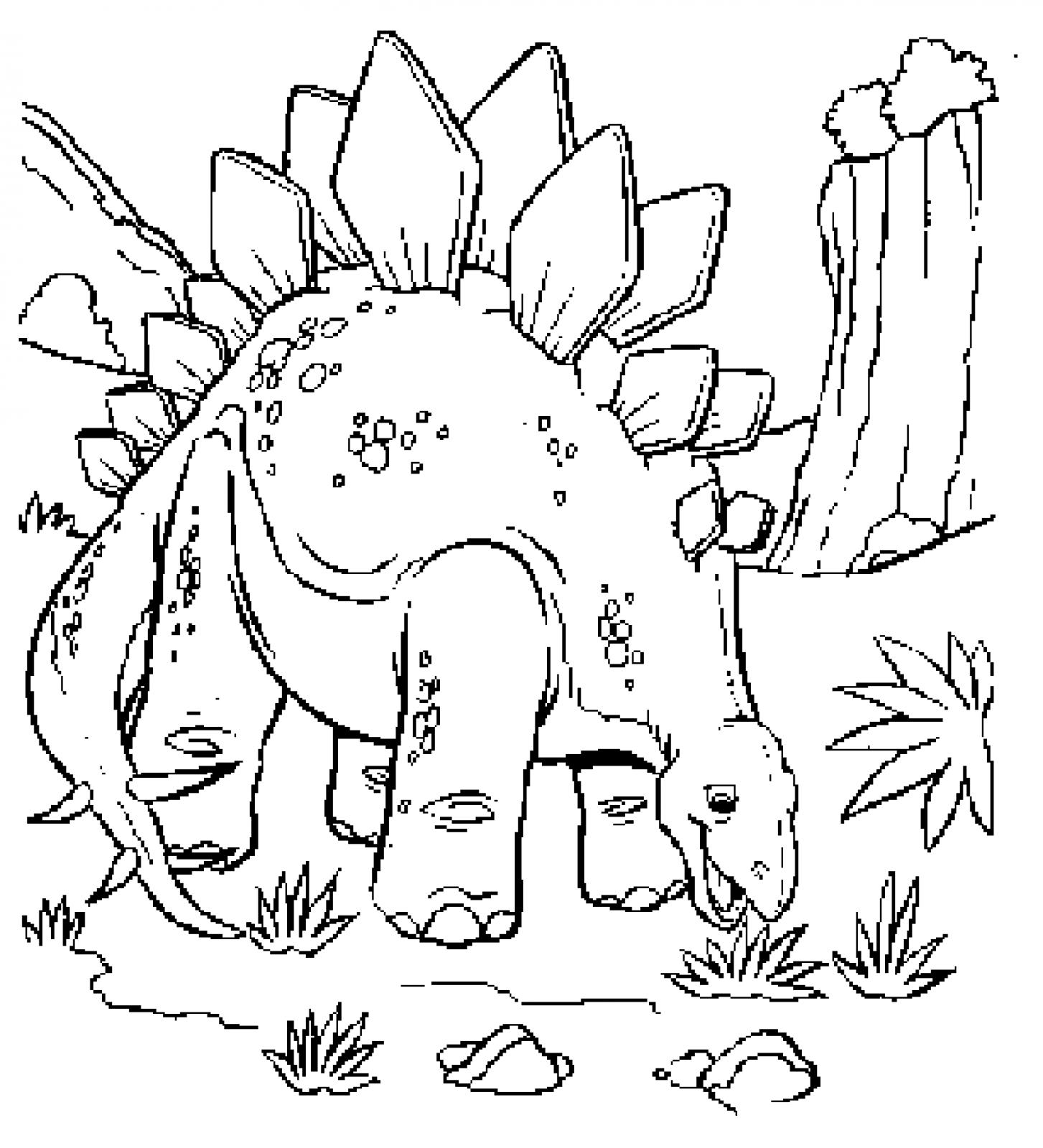 1453x1600 Free Dinosaur Coloring Pages Awesome Extinct Animals Printable