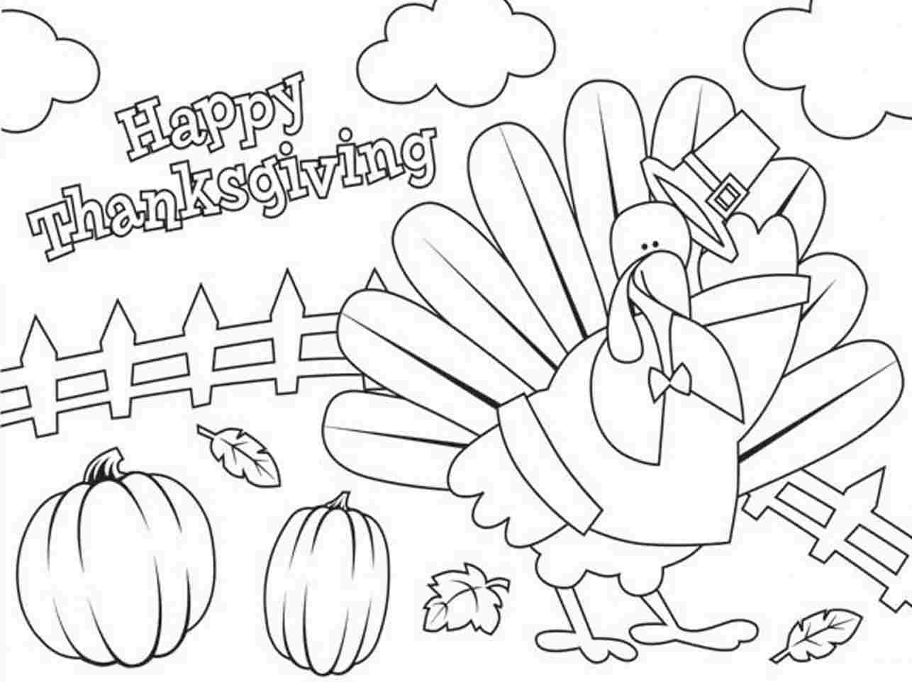 1286x962 Thanksgiving Pictures To Color New Free Printable Turkey Coloring