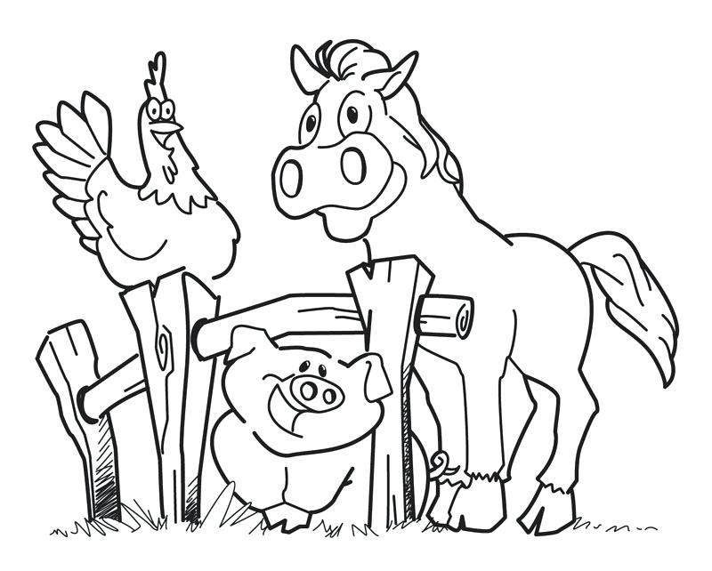 800x642 Free Coloring Pages For Preschoolers