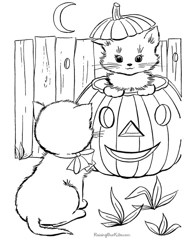 Free Printable Coloring Pages For Adults Halloween