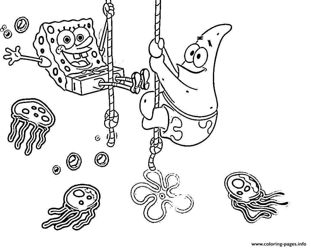 1024x819 Free Spongebob Coloring Pages