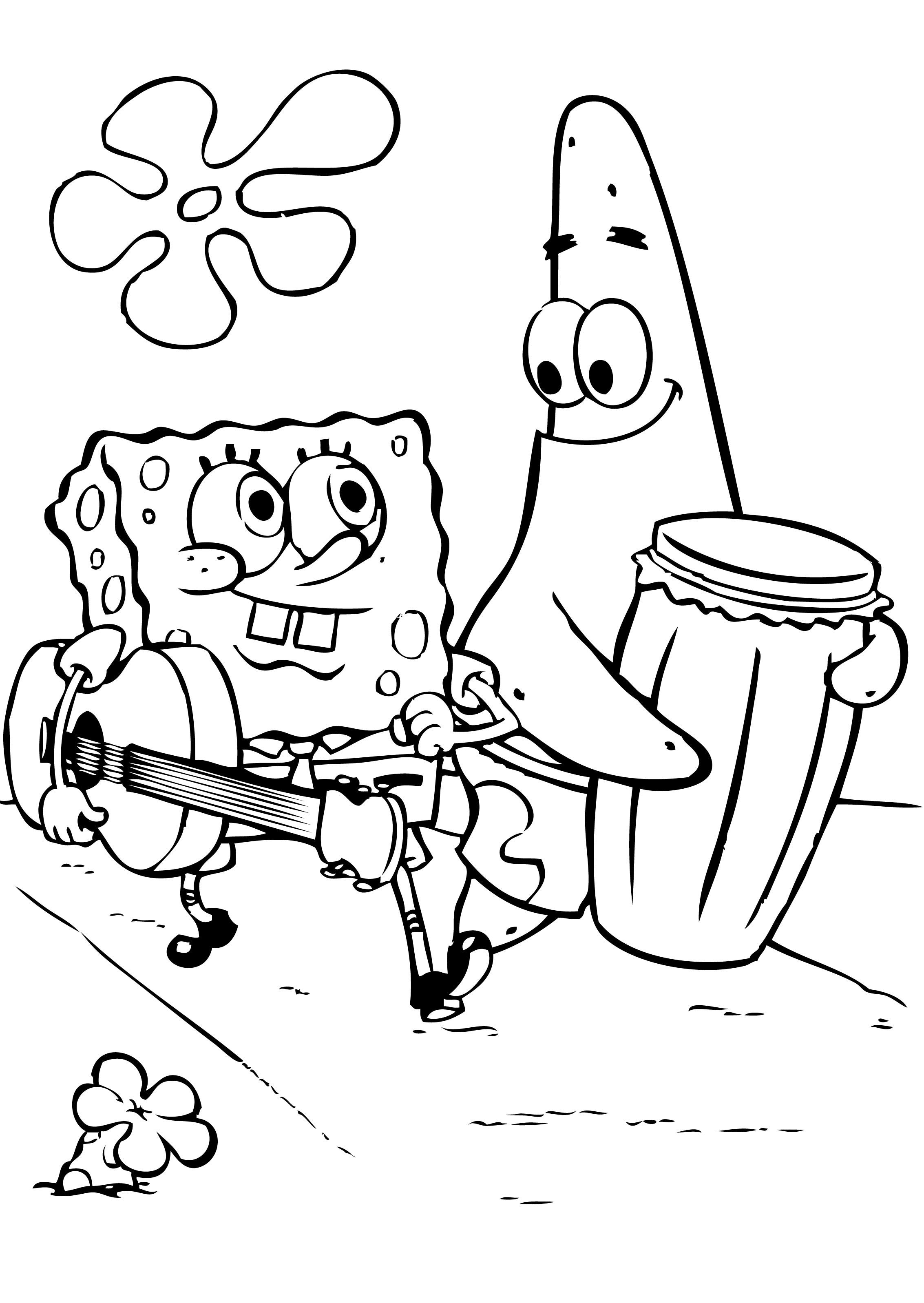 2266x3195 Spongebob Coloring Pages Free Coloring Pages For Free