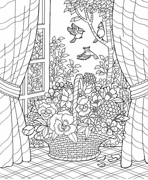 Free Summer Coloring Pages For Adults