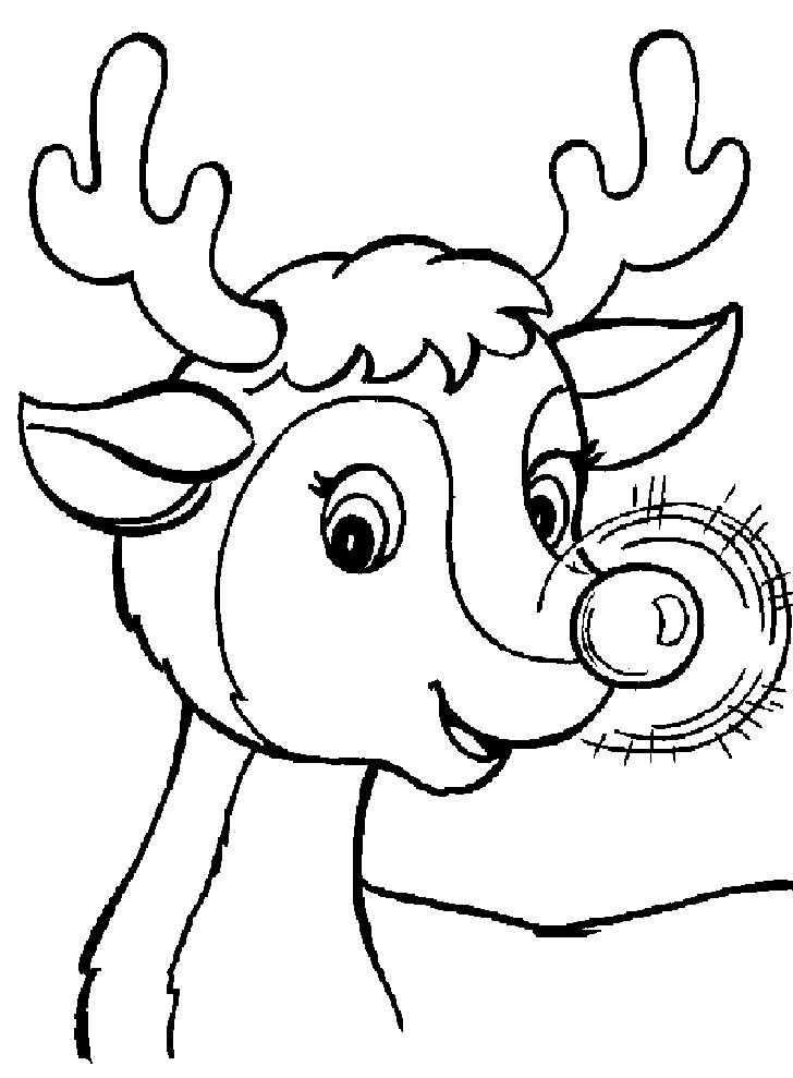 Free Winter Coloring Pages For Preschoolers
