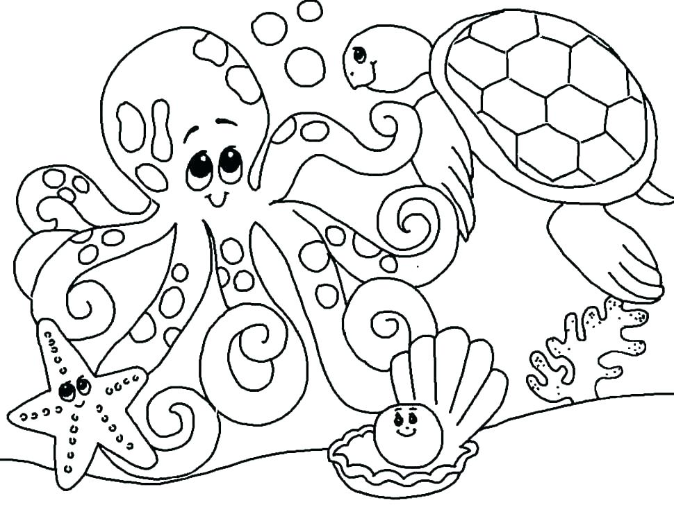 Free Zoo Animal Coloring Pages