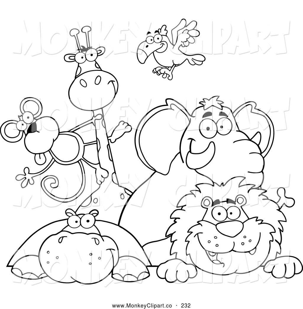 Free Zoo Coloring Pages
