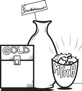 269x300 Gold Frankincense And Myrrh Coloring Pages, Printable Christmas