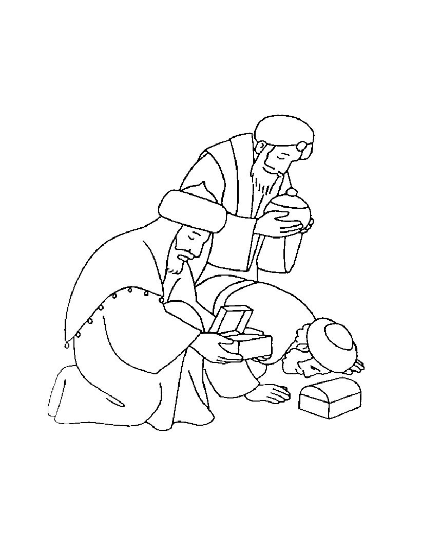 820x1060 Three Kings Coloring Pages