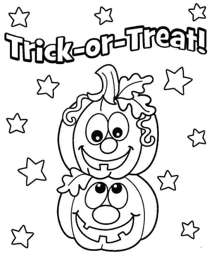 706x854 Easy Halloween Coloring Pages S Easy Halloween Coloring Pages