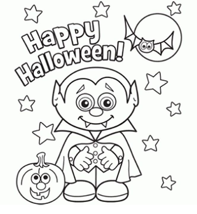 664x720 Free Coloring Pages Halloween Best 25 Halloween Coloring Pages
