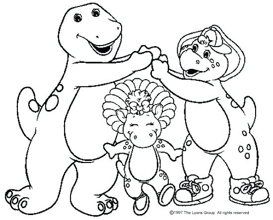 550x444 Barney Coloring Pages Barney Colouring Pages Photo Gallery Next
