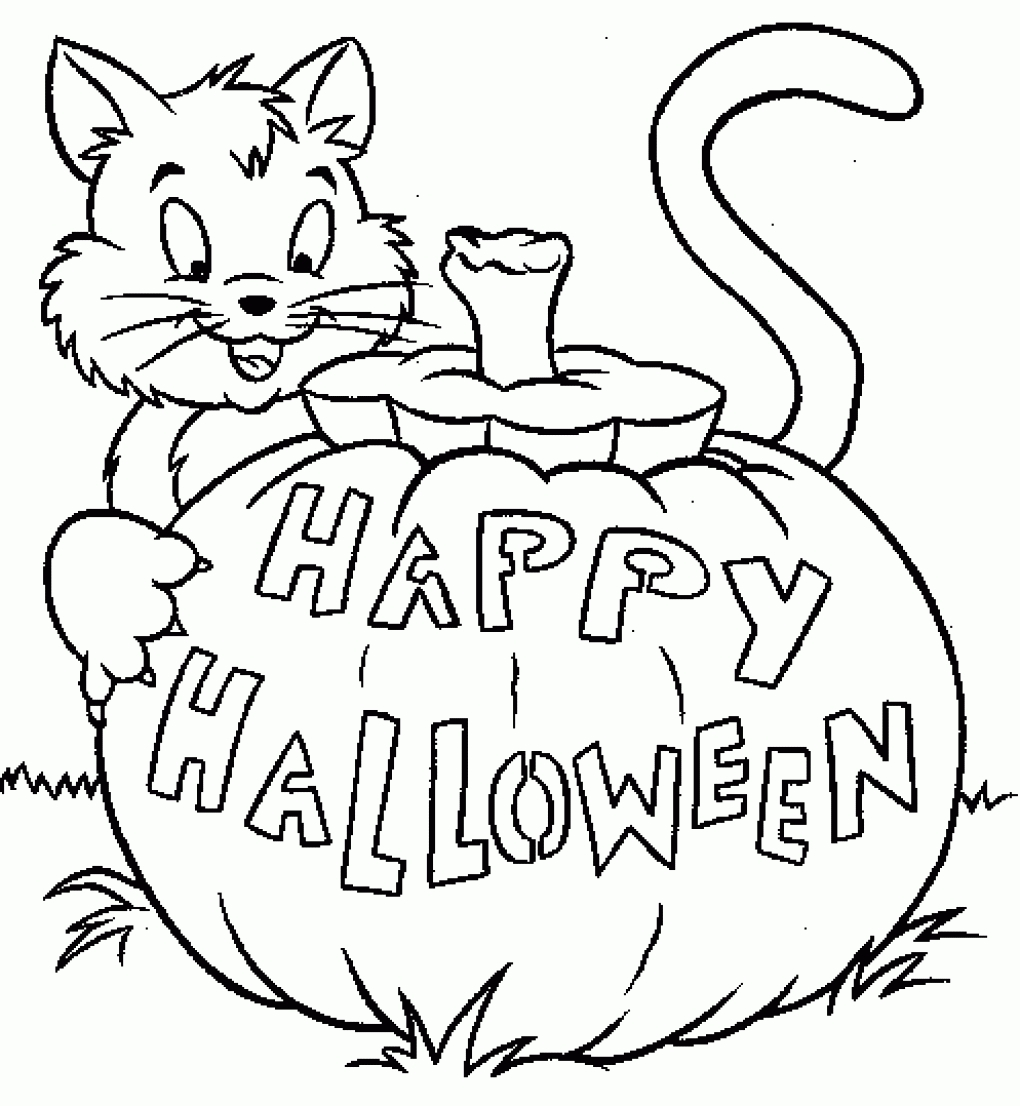 1020x1106 Halloween 2016 Printable Coloring Pages For Toddlers