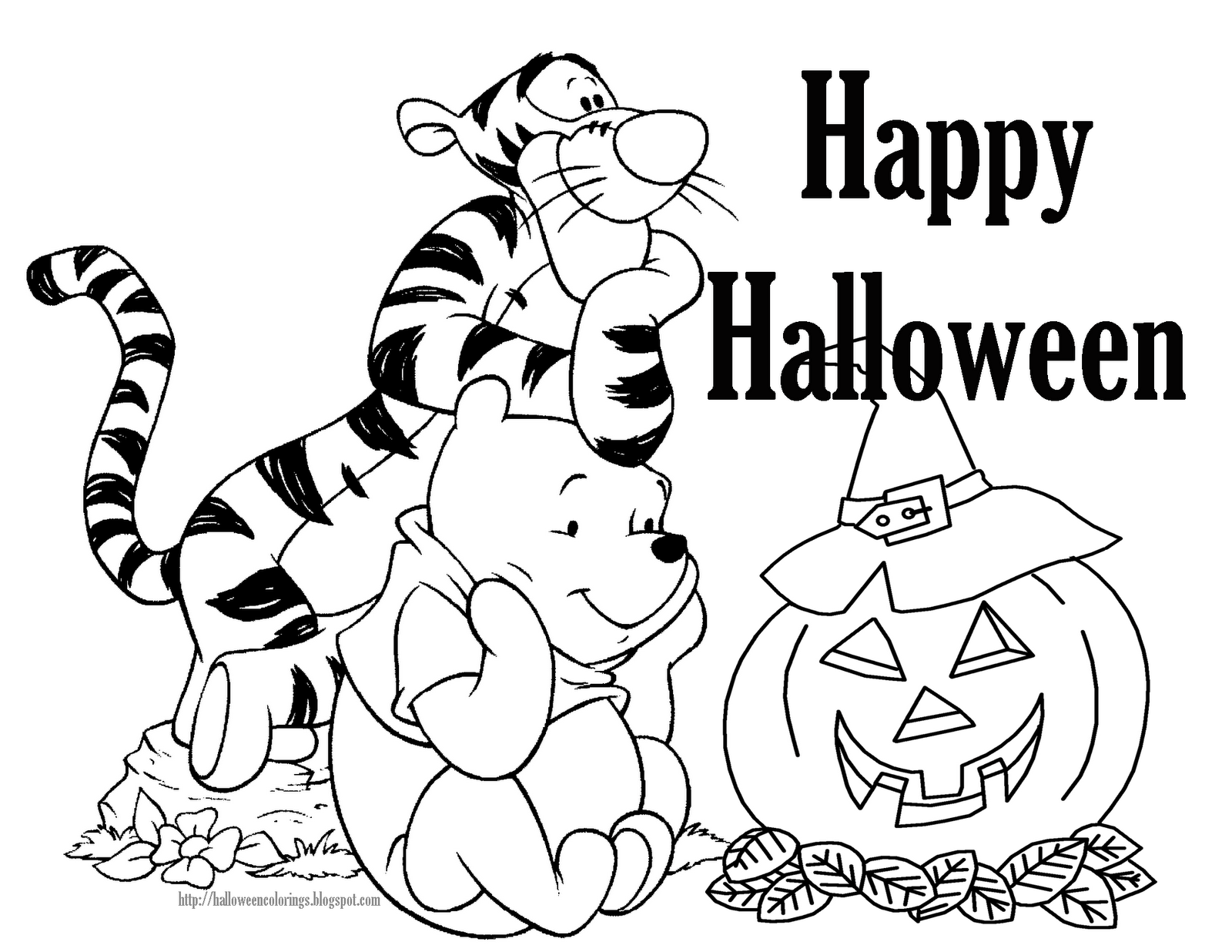 1600x1236 Best Free Disney Halloween Coloring Pages Free 4974 Printable
