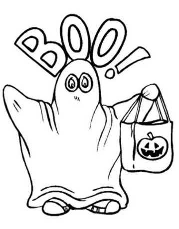 359x460 Printable Halloween Coloring Pages Coloring Lab