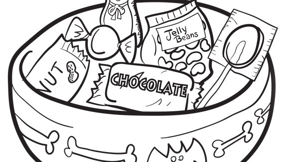580x326 Www.halloween Coloring Pages