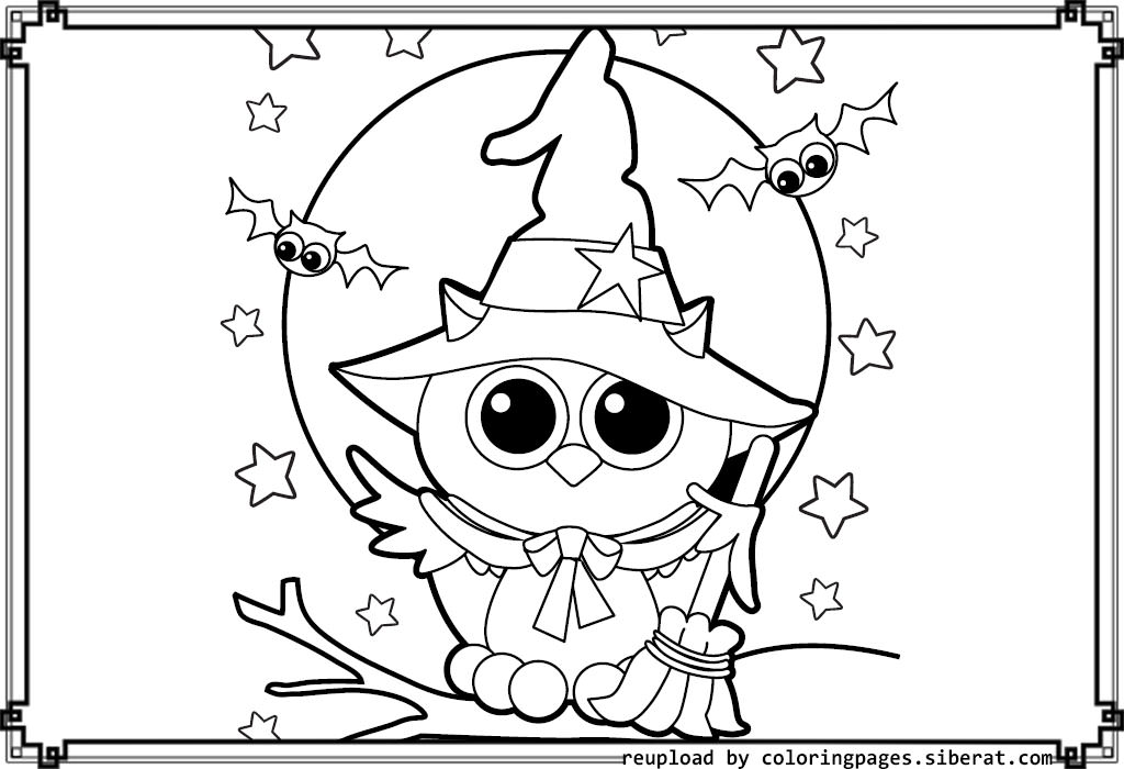 1024x700 Fun Halloween Coloring Sheets Cute Halloween Coloring Pages Fun