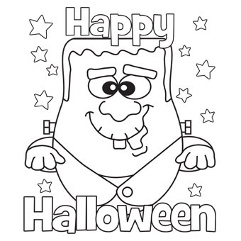 340x340 Best Free Printable Halloween Coloring Pages For Kids Print Them