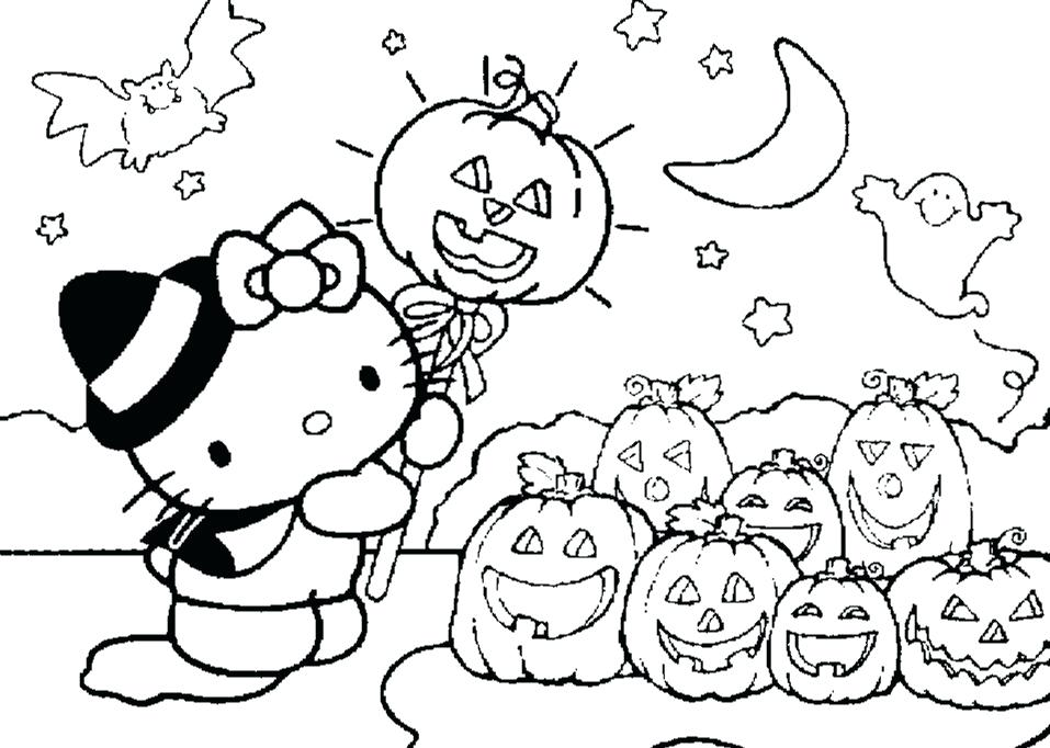 957x682 Cartoon Halloween Coloring Pages And Coloring Pages Cartoon