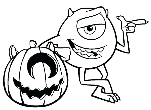 600x436 Cool Halloween Coloring Pages Printable Coloring Page Fun Free