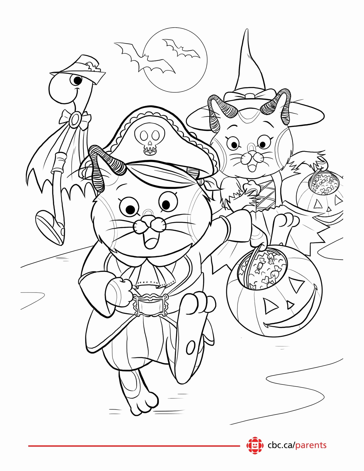 Halloween Coloring Pages Games