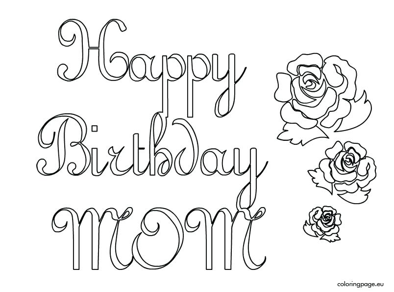804x595 Happy Birthday Coloring Pages Happy Birthday Coloring Pictures