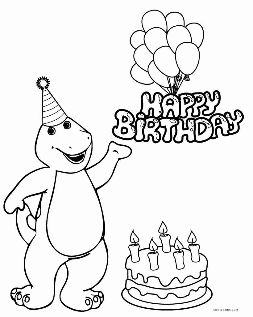 820x1025 Happy Birthday Mom Coloring Cards New Birthday Cake Years Coloring